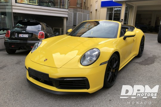 Porsche 992 C4S Cabriolet